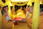 Đà Nẵng: Lễ nhập kim quan Cố trưởng lão HT. Thích Viên Minh