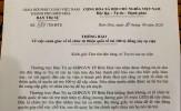 Ban Trị sự GHPGVN TP Biên Hoà cảnh báo khẩn Chư tăng ni trụ trì