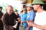Chùa Hòa Phúc trao tặng 215 suất quà cho người dân Hà Tĩnh bị thiên tai