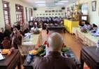 Hà Tĩnh: Hội nghị về tổ chức Tuần lễ Phật đản và An cư kết hạ PL 2562