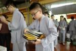 Hà Nội: 500 bạn trẻ học hạnh nhẫn nhục tại khóa tu mùa hè
