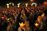 Quảng Ninh: Đêm hội hoa đăng 'Phật giáo Trúc Lâm hội tụ và lan tỏa'