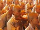 Những ngày mới xuất gia nhìn đâu cũng thấy Phật và Bồ tát...*