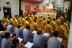 Đoàn chư Tăng chùa Hoằng Pháp thăm chùa Giai Lam – Tịnh Pháp