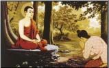 Đức Phật quy y cho vị cư sĩ đầu tiên