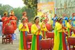 Hà Nội: Khai mạc lễ hội xuân Kỷ Hợi tại chùa Vạn Phúc