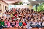 Hà Nội: Hơn 100 em học sinh tham gia khóa tu mùa tại chùa Tiên Linh