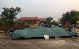 Nghệ An: Chùa Chí Linh bị ảnh hưởng nặng sau cơn lốc xoáy