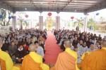 Thanh Hóa: Chùa Đống Cao lễ Phật  và tụng kinh cầu an đầu năm