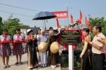 Chùa Thiên Quang trao cầu giao thông, hỗ trợ xây nhà tình thương tại tỉnh Đồng Tháp