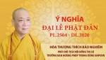 Ý nghĩa Phật đản PL.2564 – DL.2020