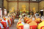 Thiền viện Trúc Lâm Viên Ngộ tưởng niệm 709 năm Phật Hoàng Trần Nhân Tông nhập Niết bàn