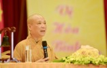 HT.Thích Bảo Nghiêm thuyết giảng chủ đề 'tứ trọng ân' tại khóa tu mùa hè chùa Bái Đính