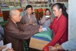 Ban Hoằng pháp T.Ư GHPGVN thăm, tặng 400 phần quà cho ngư dân