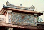 'Bí ẩn' bức tranh rồng bị che khuất trên cổng chùa Thiên Mụ ở cố đô Huế