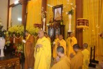 Lễ tang Cố trưởng lão HT. Thích Viên Minh: ngày viếng tang thứ nhất
