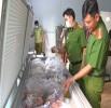 Bắt giữ hơn 3.000 kg chả đòn chay nghi trộn thịt, cá