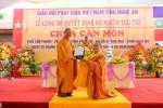 Nghệ An: Lễ bổ nhiệm trụ trì chùa Càn Môn (An Pháp tự)