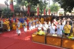 Lễ giỗ Tổ Hùng Vương - cầu nguyện tư vấn mùa thi năm 2015 tại Chùa Bằng