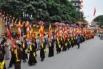 Hà Nội: Tưng bừng lễ hội rước Phật quanh làng Bằng A
