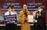 Giáo hội Phật giáo VN ủng hộ 3,5 tỷ đồng tại lễ ra mắt Quỹ vắc-xin phòng, chống dịch Covid-19