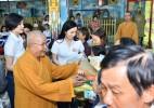 Vĩnh Long: Chùa Phước Quang, Vu lan báo hiếu chia sẽ nghĩa tình