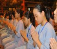 Hà Nội: Chính thức khai mạc khóa tu mùa hè lần thứ 8 tại chùa Bằng