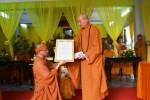 Khánh Hòa: Lễ công bố quyết định bổ nhiệm trụ trì chùa Kỳ Viên Trung Nghĩa