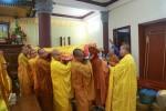 Lễ nhập kim quan cố Hòa thượng Thích Chí Mãn