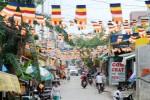 Không thể cấm được việc treo cờ Phật đản
