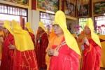 Long An: Lễ tạ đàn Dược Sư chùa Linh Nguyên