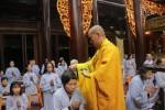 44 Phật tử 'xuất gia gieo duyên' tại khóa chuyên tu 10 ngày tại chùa Hòa Phúc
