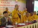 Tọa đàm Định hướng đặc trưng Văn hóa Phật giáo Việt Nam - Đề án Pháp phục và Ngôn ngữ.