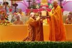 Lễ bổ nhiệm trụ trì ngôi chùa có độ cao hơn 1000m với mặt nước biển