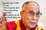Những nguyên tắc sống tuyệt vời của Đức Đạt Lai Lạt Ma