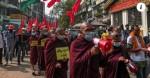 Hội nhà sư Myanmar phản đối chính quyền quân sự