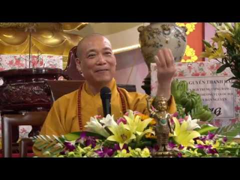 Hòa thượng Thích Bảo Nghiêm thuyết giảng tại khóa tu tuổi trẻ 'Học Theo Hạnh Phật'